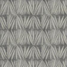Blueberry Geometric Decorator Fabric by Stroheim