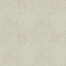 Almond Floral Decorator Fabric by Stroheim