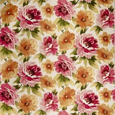Magenta Floral Decorator Fabric by Fabricut