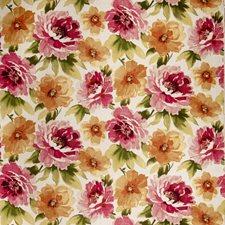 Magenta Floral Decorator Fabric by Fabricut