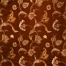Cinnamon Jacobean Decorator Fabric by Fabricut