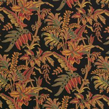 Raven Jacquard Pattern Decorator Fabric by Vervain