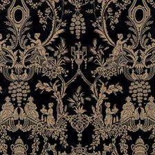 Onyx Asian Decorator Fabric by Vervain