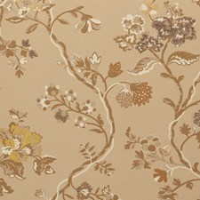 Almond Floral Decorator Fabric by Vervain