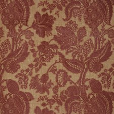 Cinnamon Floral Decorator Fabric by Vervain