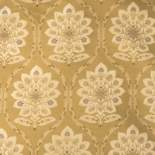 Butternut Damask Decorator Fabric by Vervain