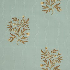Aquaglace Jacquard Pattern Decorator Fabric by Vervain