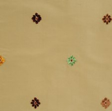 Bamboo Embroidery Decorator Fabric by Vervain