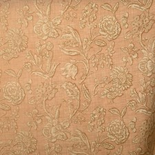 Slipper Pink Floral Decorator Fabric by Vervain