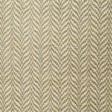 Blue Spruce Herringbone Decorator Fabric by Vervain