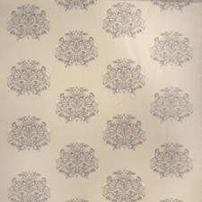 Cherry Blossom Embroidery Decorator Fabric by Stroheim