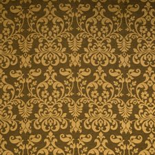 Bronze Damask Decorator Fabric by Trend