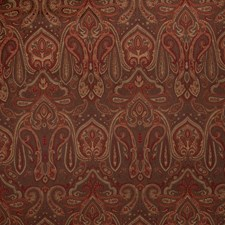 Coffee Paisley Decorator Fabric by Trend