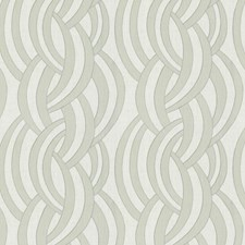 Ivory Ash Lattice Decorator Fabric by S. Harris