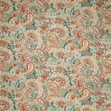 Coral Paisley Decorator Fabric by Fabricut