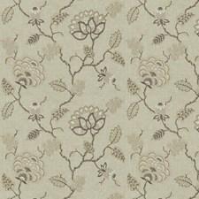 Travertine Embroidery Decorator Fabric by Fabricut
