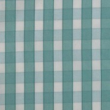 Teal Plaid Decorator Fabric by B. Berger