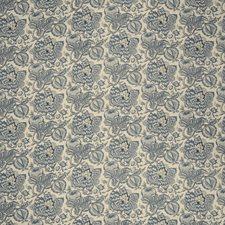 Indigo Jacobean Decorator Fabric by Fabricut
