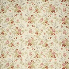 Rouge Floral Decorator Fabric by Fabricut