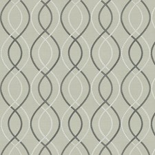 Steel Embroidery Decorator Fabric by Fabricut