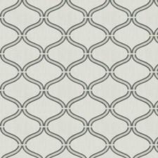 Slate Embroidery Decorator Fabric by Fabricut