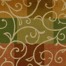 Terra/green Decorator Fabric by Duralee