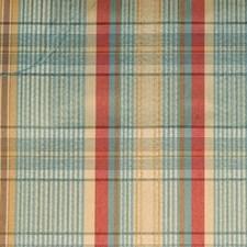 Aqua/gold Decorator Fabric by Duralee