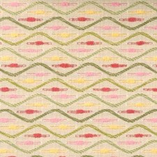 Kiwi/pink Decorator Fabric by Duralee
