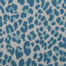 Aqua Animal Skins Decorator Fabric by Duralee