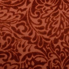 Tangerine Chenille Decorator Fabric by Duralee