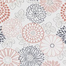 Coral Floral Medium Decorator Fabric by Duralee
