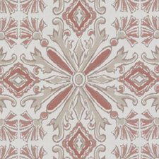 Coral Chenille Decorator Fabric by Duralee