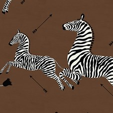 Safari Brown Decorator Fabric by Scalamandre