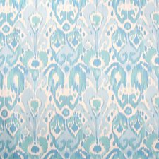 Blues On Cream Decorator Fabric by Scalamandre