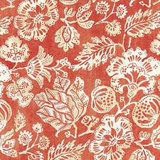 Coral Decorator Fabric by Scalamandre