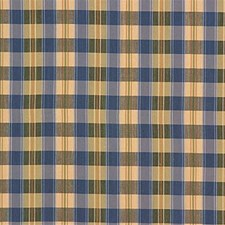 Blue/Beige/Green Plaid Decorator Fabric by Kravet