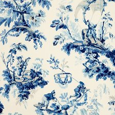 Porcelain Decorator Fabric by Schumacher