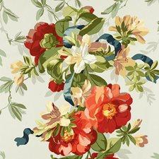 Aqua Decorator Fabric by Schumacher