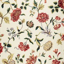 Document Rose Decorator Fabric by Schumacher