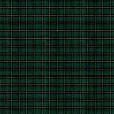 Green Plaid Decorator Fabric by Kravet
