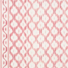 Faded Red Decorator Fabric by Schumacher