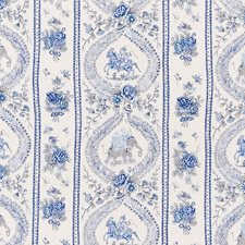 Blues Decorator Fabric by Schumacher
