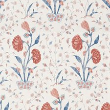 Delft/Rose Decorator Fabric by Schumacher