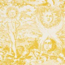 Yellow Decorator Fabric by Schumacher
