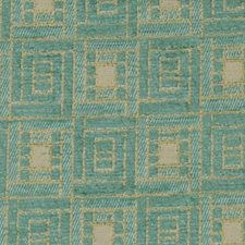 Teal Decorator Fabric by Highland Court