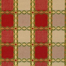 Red/green Decorator Fabric by Highland Court