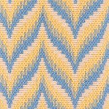 Blue/yellow Decorator Fabric by Highland Court