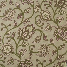 Plum Floral Medium Decorator Fabric by Highland Court