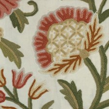 Red/coral Decorator Fabric by Highland Court