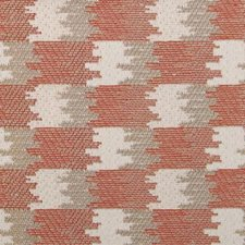 Saffron Geometric Decorator Fabric by Highland Court